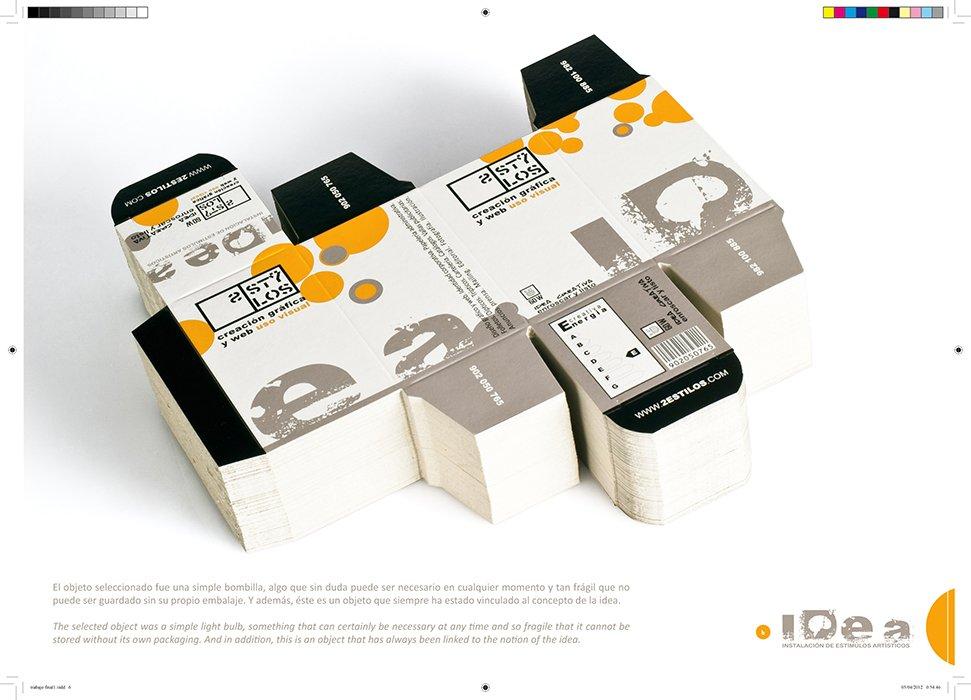 corte del packaging